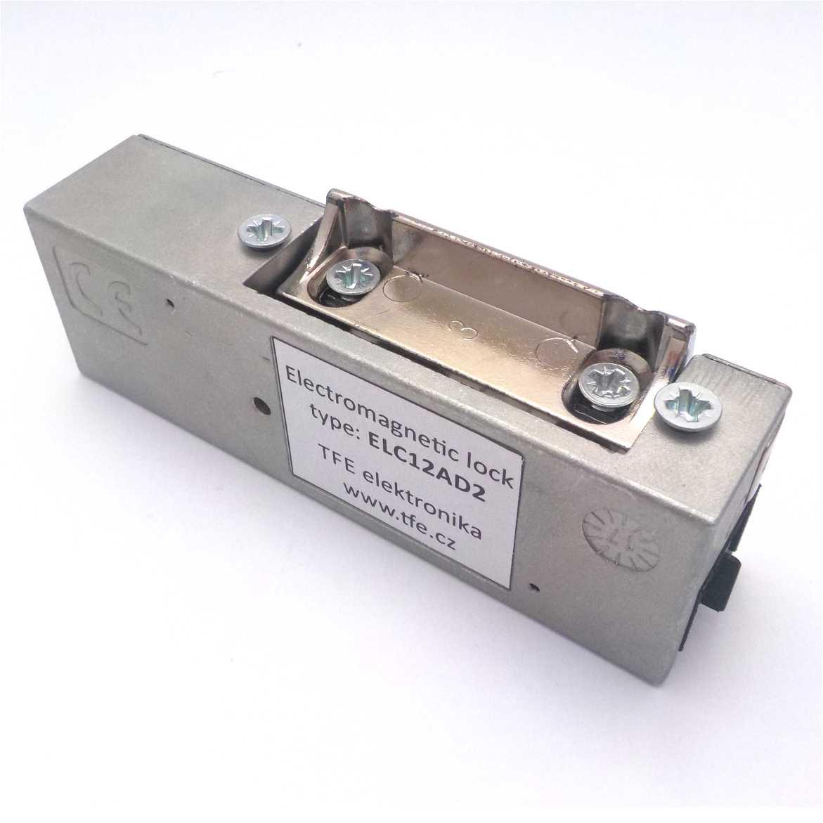 Elektrický zámek s nastavitelnou západkou ELC12AD2