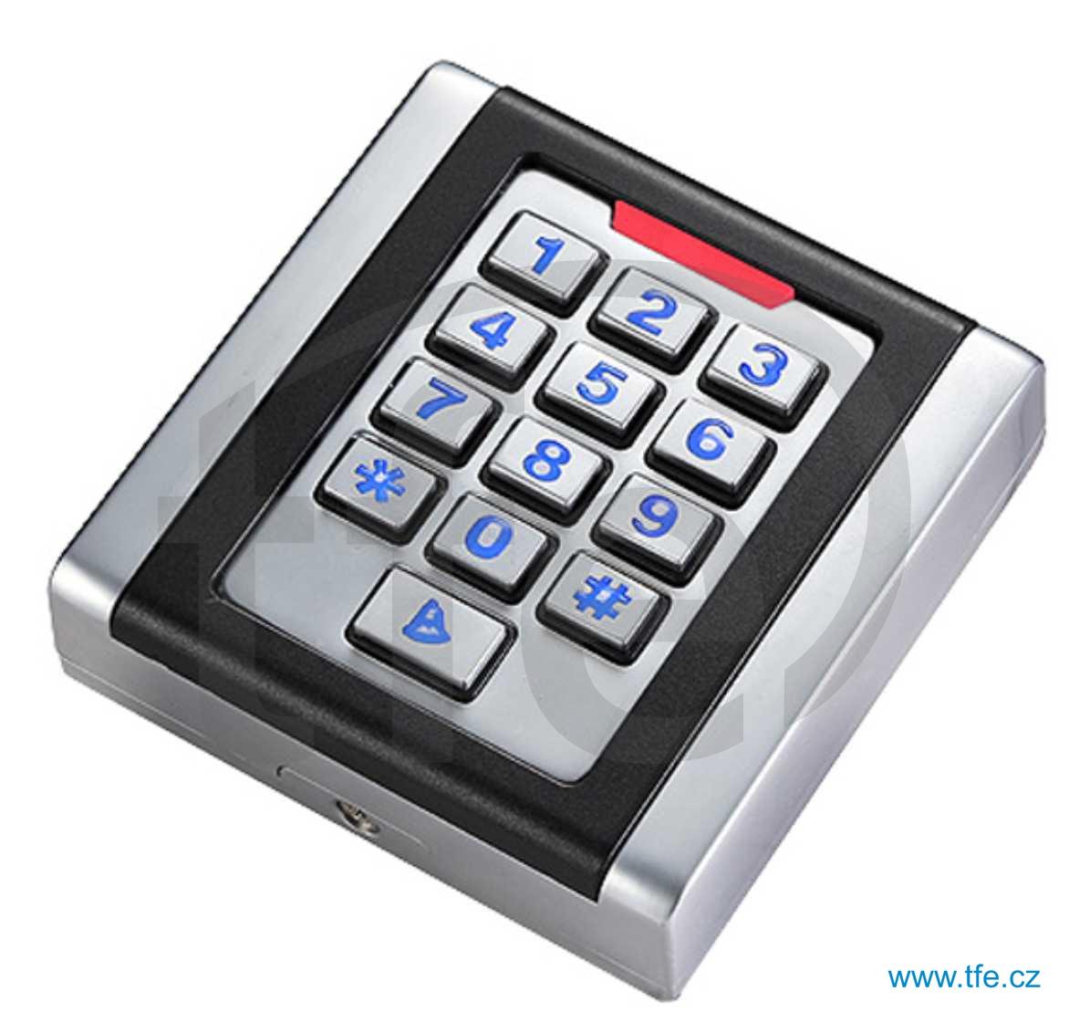 Venkovní přístupový systém s klávesnicí a čtečkou RFID ACK5W