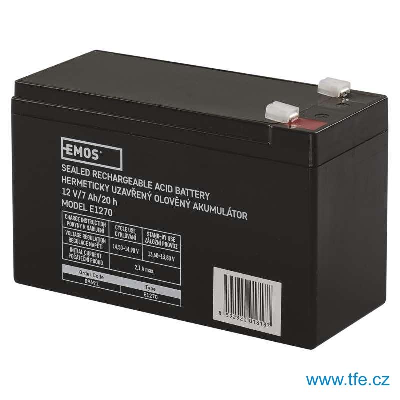 Bezúdržbový akumulátor 12V / 7Ah AKU-1270