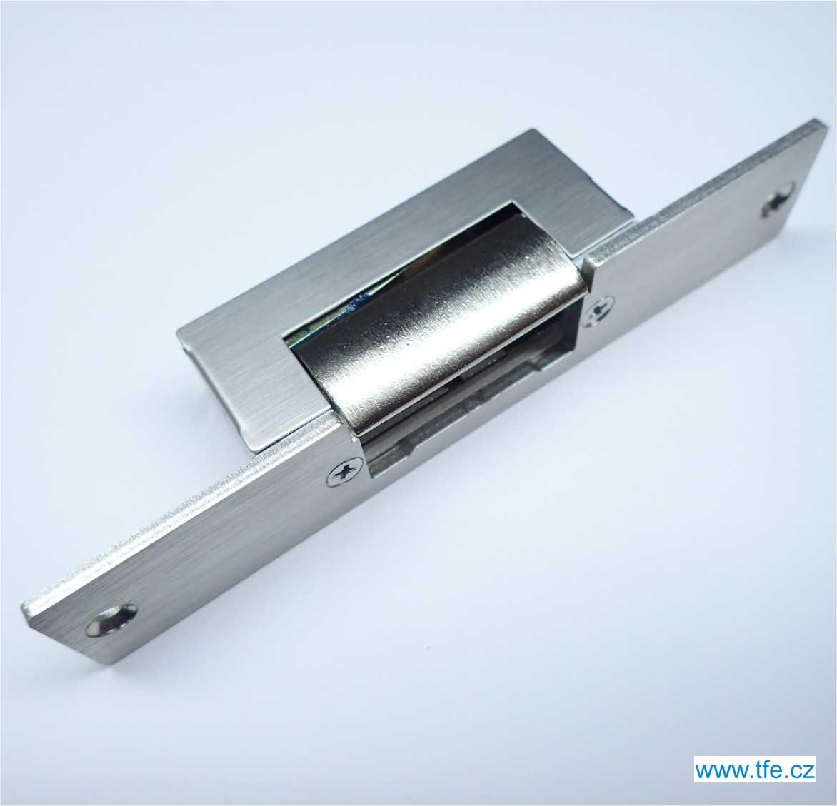 Elektrický zámek s nerezovým štítkem ELC12D6