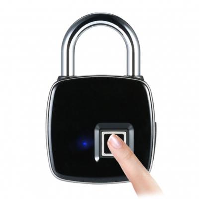 Visací zámek s čtečkou otisku prstů FPL18