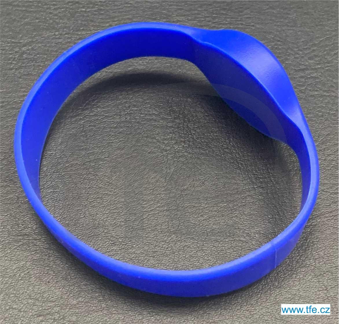 Bezkontaktní silikonový náramek RFID EM 125kHz, typ IDB4