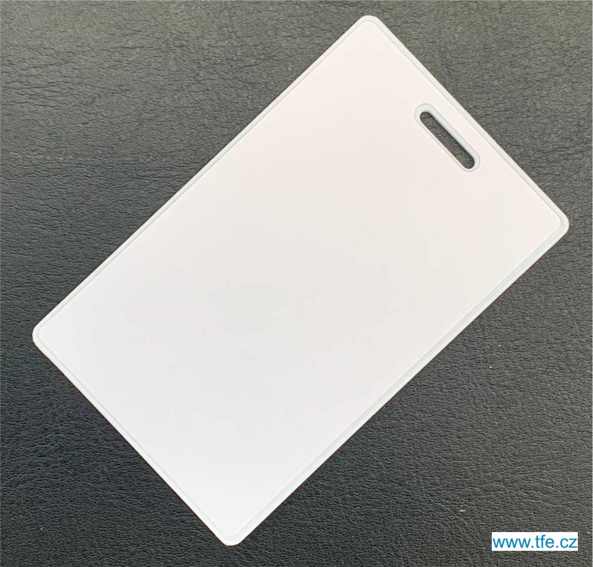 Bezkontaktní karta RFID EM 125kHz, typ IDC2H